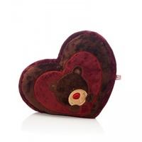 Игрушка-подушка Cердце Choco 40 см.
