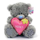 "Мишка с розовым сердцем ""Kisses"""