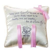 Подушка для колец MTY со стихом